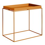 Tray table large rectangular, toffee