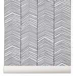 Herringbone wall paper