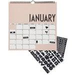 Wall calendar 2019, nude