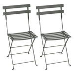Bistro Metal chair, 2 pcs, rosemary