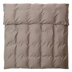 Saara double duvet cover, hazel