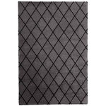 Salmiakki rug, grey - black