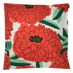 Primavera cushion cover 50 x 50 cm, white - orange - green