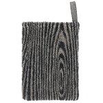 Lapuan Kankurit Viilu wash mitten, black - linen