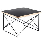 Eames LTR Occasional table, black