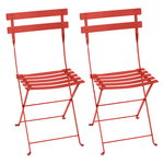Bistro Metal chair, 2 pcs, capucine