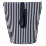 Chambray basket, striped, large