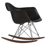 Vitra Eames RAR rocking chair, full black