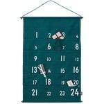 Joulukalenteri, vihreä