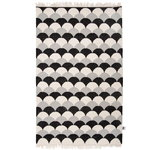 Suomu rug 110 x 170 cm, light grey