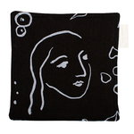 Saana ja Olli Onnenmaa pot holder/trivet, black