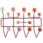 Vitra Appendiabiti Hang it all, rosso