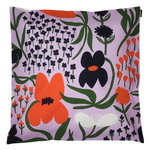 Palsta cushion cover 50 x 50 cm, lilac - orange - dark blue