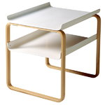 Aalto side table 915, white