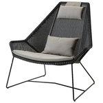 Istuintyyny korkeaselk�nojaiseen Breeze tuoliin, taupe