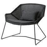 Istuintyyny Breeze nojatuoliin, musta
