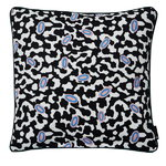 Broidered cushion 50 x 50 cm, Grey Matter