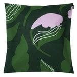 Fodera per cuscino Kasvio 50 x 50 cm, verde - lilla