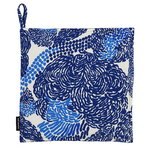 Mynsteri pot holder, white - blue