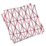 Grid paperiservetti, pinkki