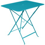 Bistro table 77 x 57 cm, turquoise blue
