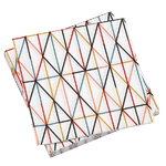 Grid paperiservetti, monivärinen