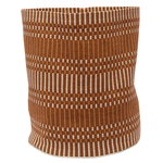 Helios fabric basket M, brick
