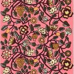 Tiara fabric, pink