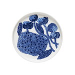 Oiva - Mynsteri plate 13,5 cm, blue - white