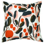 Jaspi cushion cover 50 x 50 cm, white - red