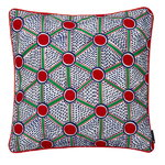 Broidered cushion 50 x 50 cm, Cells