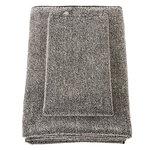 Asciugamano Kivi, nero - lino
