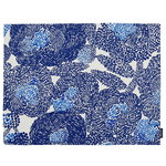 Mynsteri coated cotton placemat, white - blue