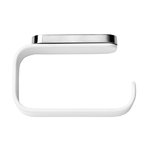 Toilet roll holder, white