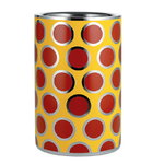 Circus wine cooler, yellow-red