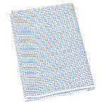 Rivi canvas cotton fabric, 150 x 300 cm, white-blue