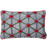 Broidered cushion 57 x 35 cm, Cells