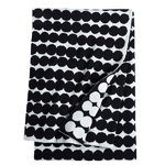 Räsymatto blanket, black