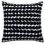 Räsymatto cushion cover, black
