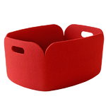 Muuto Restore storage basket, red