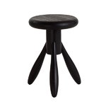 Baby Rocket stool, black