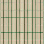 Tiiliskivi fabric, beige - dark green