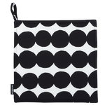 R�symatto pot holder, black-white