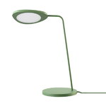 Leaf table lamp, green