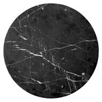 Marble top for Androgyne table, black