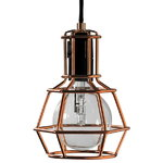 Design House Stockholm Work Lamp, copper