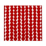 R�symatto tea towel, red-white