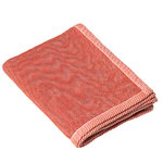 Ripple throw, red