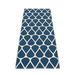 Pappelina Otis matto 70 x 200 cm, ocean blue - vanilla