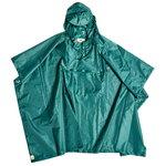 Mono rain poncho, green